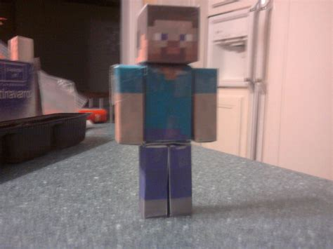 How To Make Minecraft Steve Out Of Paper - paper minecraft steve by papercraftman on deviantart