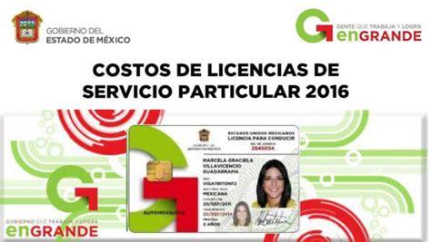 costo licencia 2016 en san luis potosi costo licencia 2016 en san luis potosi costo de