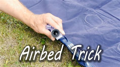 inflate  airbed   pump youtube