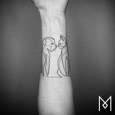 tattoo liner depth minimalist tattoo series by mo ganji shows depth of line