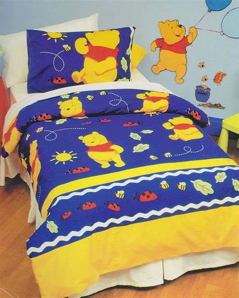 winnie the pooh coverlet winnie the pooh quilt doona duvet cover set winnie the
