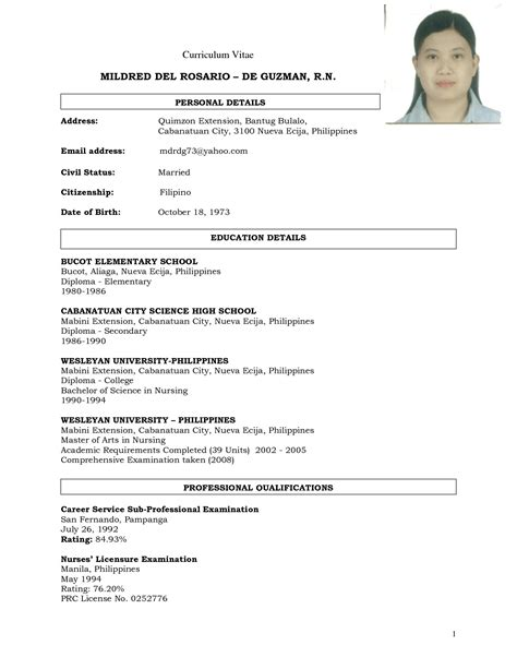 resume exles for a application resume sle for application docnokiaaplicaciones