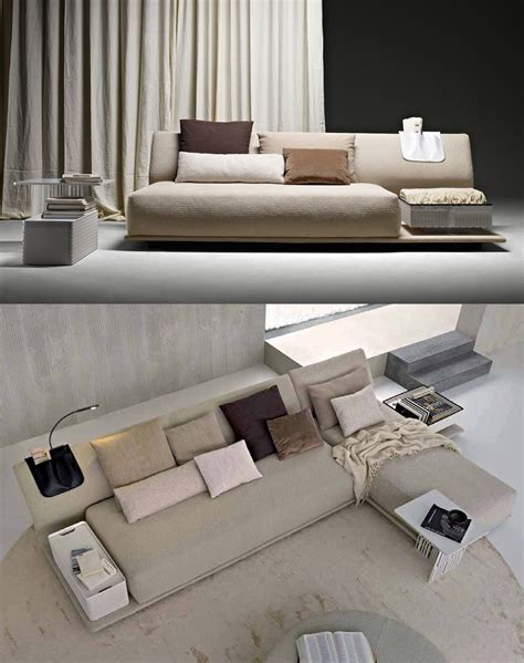 divani molteni divani con piani d appoggio integrati cose di casa