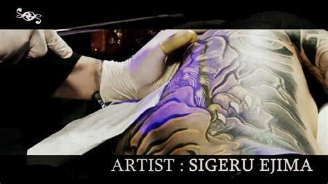 japanese tattoo artist youtube 和彫師 japanese traditional tattoo artist sigeru ejima