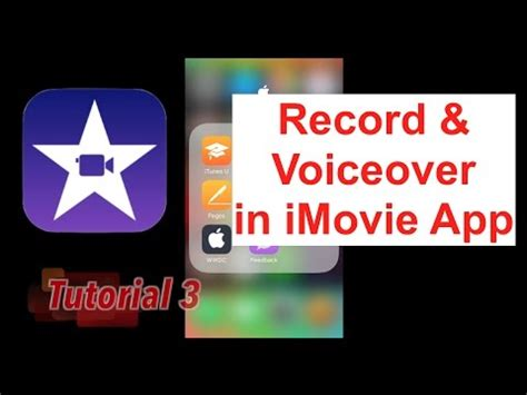 imovie app tutorial 2015 book trailers adding your voice recording in ipad s imovie
