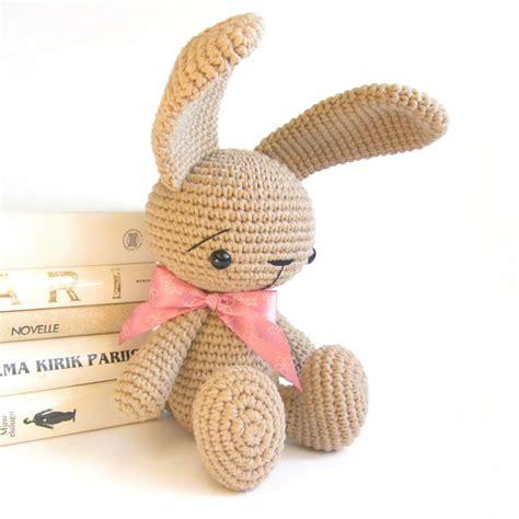 amigurumi ears pattern ravelry sitting bunny with straight ears cute rabbit
