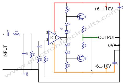 transistor headphone lifier schematic headphone lifier or prelifier output stage electronic circuits