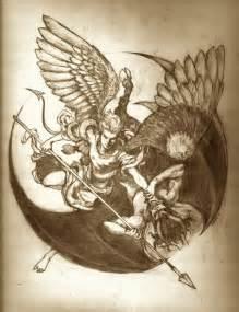 best 25 angel demon tattoo ideas on pinterest angel