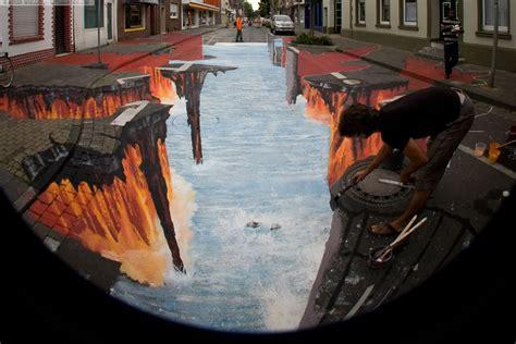 3d paintings edgar mueller project lava burst