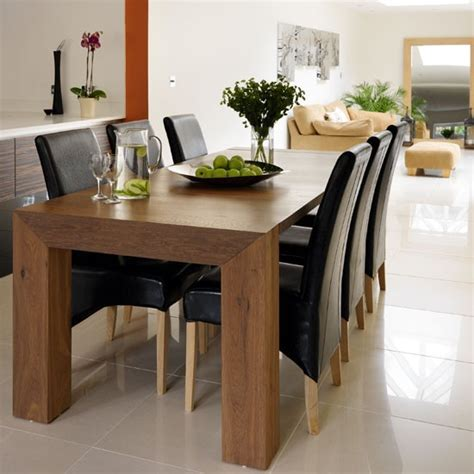 Dining Table: Ebony Wood Dining Table