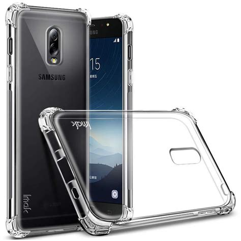 Tpu Fuze Silicon Jelly Samsung J7 Pro imak anti tpu silicone softcase for samsung galaxy c8 j7 c7 2017 transparent