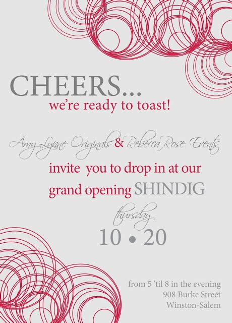 grand opening invitation template free grand opening invitations
