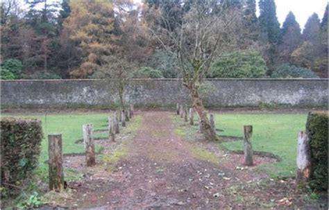 walled garden caravan park balloch castle country park west dunbartonshire council