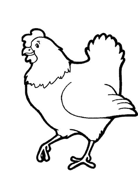 Coloriage Poule D 233 Filant Devant Son Coq Dessin Mandala Poisson A Colorier L