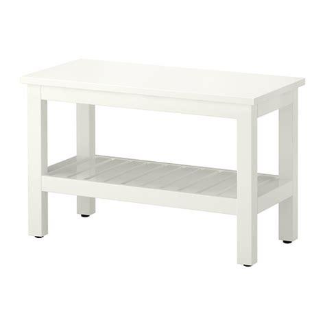 hemnes bench white ikea