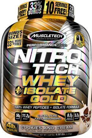 Nitro Tech Whey Isolate Harga nitro tech whey plus isolate gold by muscletech at jackednutrition pk best bodybuilding