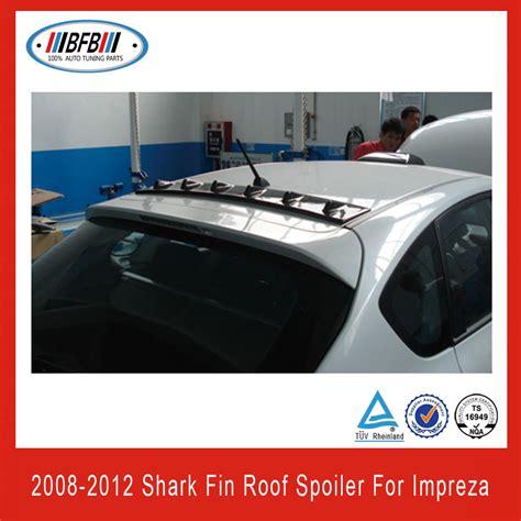 2008 wrx roof spoiler generator shark fin roof spoiler for subaru impreza grb