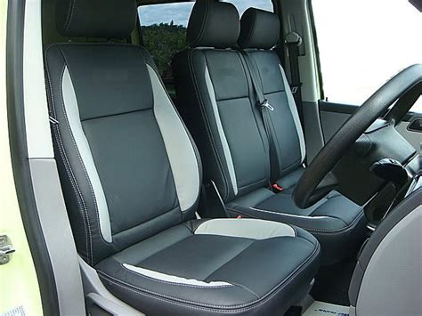 Vw Transporter Cover Mobil Durable Premium Black auto leather car seat cover specialists