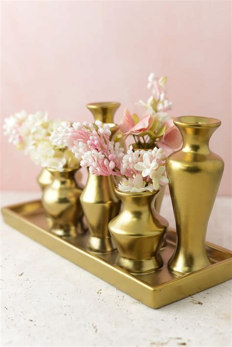 Nautical Home Decor Wholesale by Gold Chic Bud Vase Set