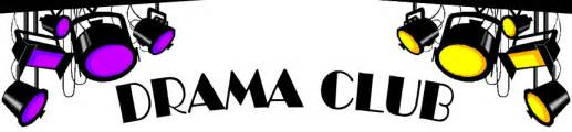drama club it s all about the drama