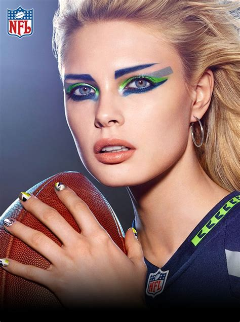 face ups on pinterest 36 pins seattle seahawks game day look hair makeup