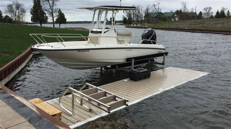boat lift pump hydraulic boat lifts battery powered boat lifts r j