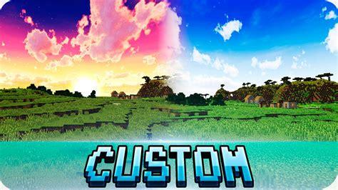 best texture packs minecraft minecraft top 3 best custom sky texture packs 1 12 1