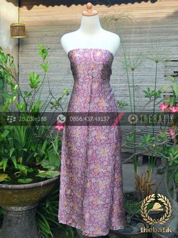 Kain Batik Sutera jual kain batik sutera motif floral ungu thebatik co id