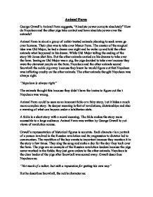 Animal Farm Essay Prompts by Essay Animal Farm George Orwell Writefiction581 Web Fc2
