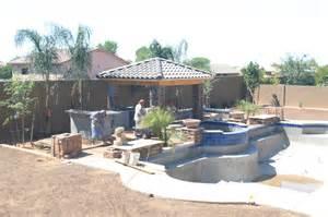 arizona backyard design triyae backyard designs az various design