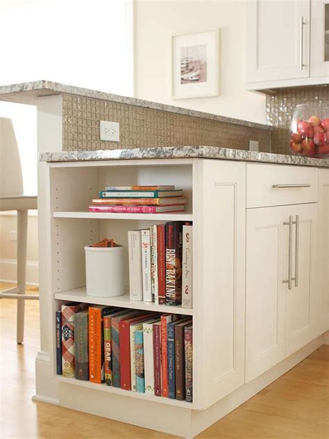 clever ways to store books cookbook shelf cabinets and