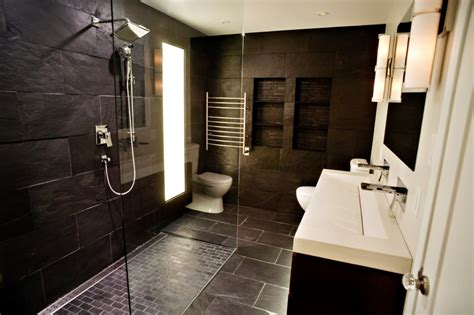 dark bathroom ideas dark master bathroom designs home ideas collection