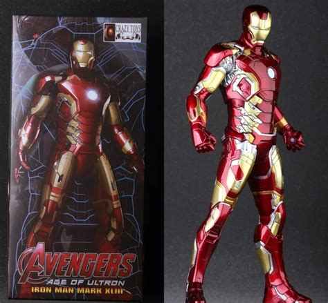Figure Iron 43 Age Of Ultron Iron Mk 43 Age Of Ultron 12 Inch Figure Marvel Goodies