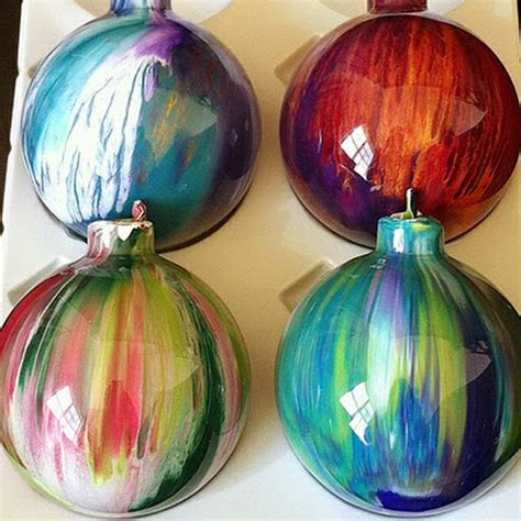 14 best photos of diy clear glass ornaments acrylic paint ornaments clear