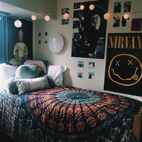 posters for bedroom sweet nirvana bedroom posters tumblr image 4203589