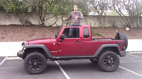 jeep wrangler pickup here s why the jeep wrangler pickup truck is awesome youtube