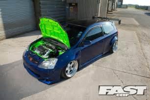 modified honda civic ep3 fast car
