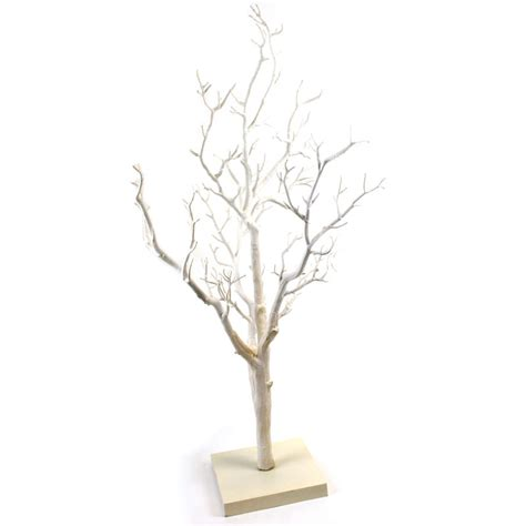 decorative white twig tree 76 cm hobbycraft