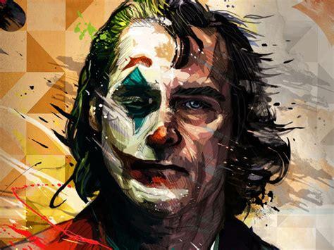 joaquin phoenix joker artistic wallpaper hd artist