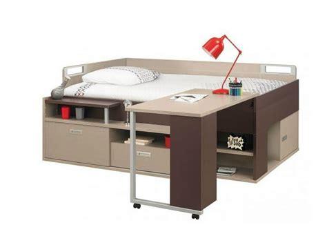 letto scrivania letto con scrivania e contenitori per ragazzi dimix