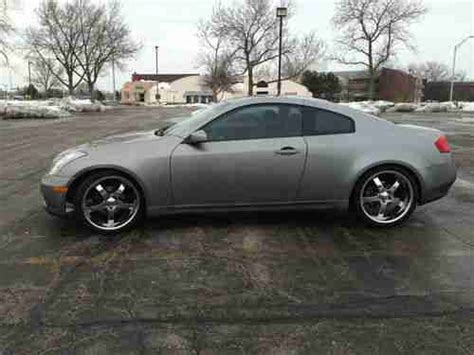 infiniti g35 chrome rims sell used infiniti 2003 g35 coupe with chrome 20