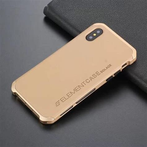 Solace Element For Iphone X solace iphone x gold