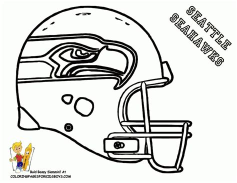 seahawks coloring pages coloring home