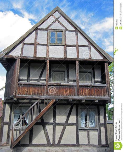 casas de la edad media casa escandinavo de la edad media foto de archivo