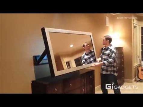hidden tv in bedroom youtube hidden vision tv mounts art entertainment youtube