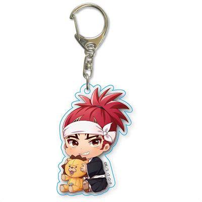 Keychain Anime Abarai Renji amiami character hobby shop gyugyutto acrylic keychain renji abarai released