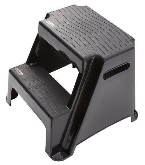 Rubbermaid 2 Step Molded Plastic Step Stool by Rubbermaid Rm P2 2 Step Molded Plastic Stool With Non Slip Step Treads Ebay