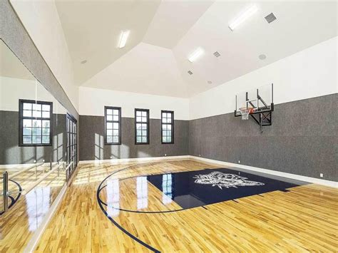 basement basketball court house plans with basketball court inside