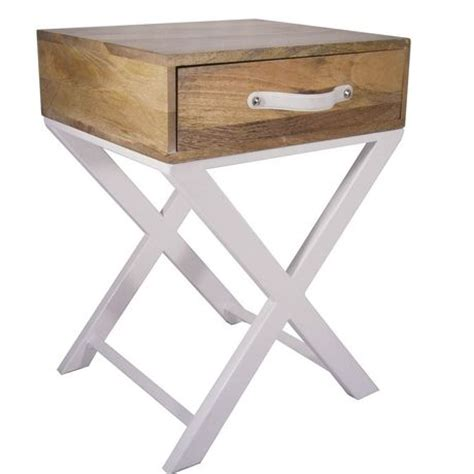 X Leg Side Table Hometrends X Leg Accent Table Walmart Ca