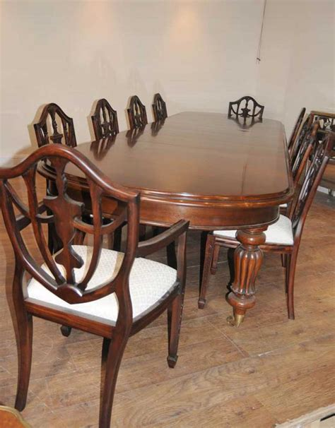 dining table set 10 federal chairs suite
